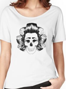 THE SKULL IS COOL Women's Relaxed Fit T-Shirt