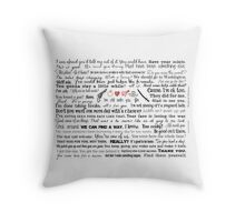 ALL THE BEST RICHONNE QUOTES Throw Pillow