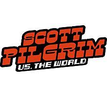 Scottpilgrim vs the world logo Photographic Print