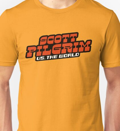Scottpilgrim vs the world logo Unisex T-Shirt