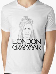 London Grammar Mens V-Neck T-Shirt