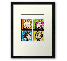 PoP CaptainSwan Framed Print