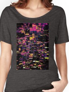 Homes On A Hill Pop Art Women's Relaxed Fit T-Shirt