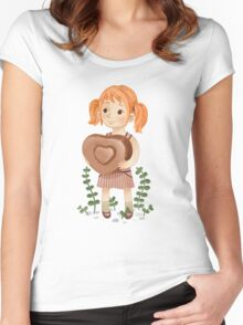 Sweet day Women's Fitted Scoop T-Shirt