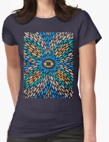 Psychedelic Street Art, Tel Aviv Womens Fitted T-Shirt
