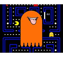 Retro Pac Man Monster Photographic Print