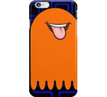 Retro Pac Man Monster iPhone Case/Skin