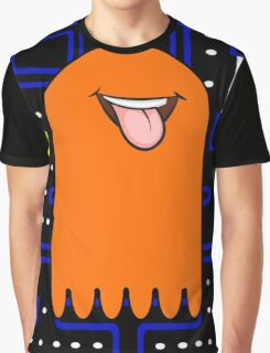 Retro Pac Man Monster Graphic T-Shirt