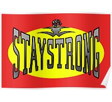 STAYSTRONG-FIST Poster