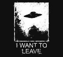 I want to leave Classic T-Shirt