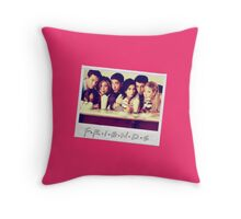 Friends --- Polaroid Group Photo Throw Pillow