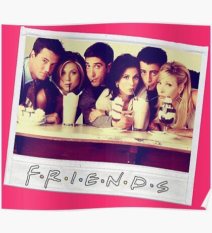 Friends --- Polaroid Group Photo Poster