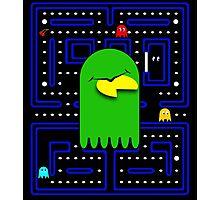 Retro Pac Man Gaming Monster Photographic Print