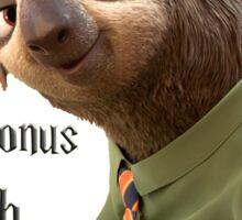 My Patronus is a Sloth Sticker