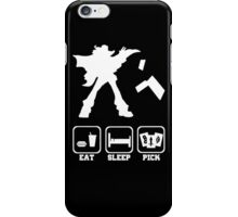Eat sleep Pick 2 iPhone Case/Skin