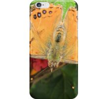 Butterfly on Flowers iPhone Case/Skin