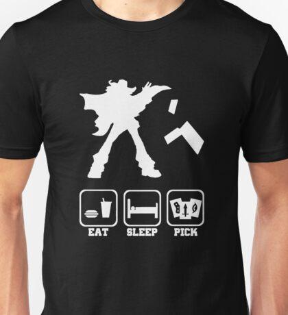 Eat sleep Pick 2 Unisex T-Shirt
