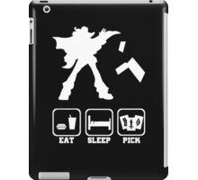 Eat sleep Pick 2 iPad Case/Skin