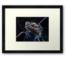 """All hail the hypno...frog?"" Framed Print"