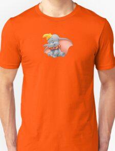 Sitting Dumbo Unisex T-Shirt