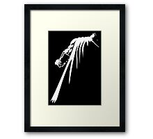 Withe knight Framed Print