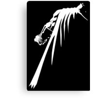 Withe knight Canvas Print
