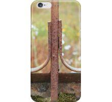 Rusted Iron Work iPhone Case/Skin