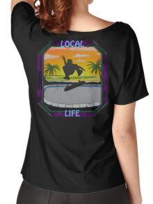 """Local Life 805 """" Pool Air """" t-shirt Women's Relaxed Fit T-Shirt"""