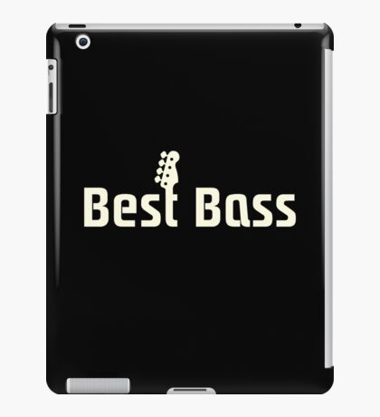 Best Bass iPad Case/Skin