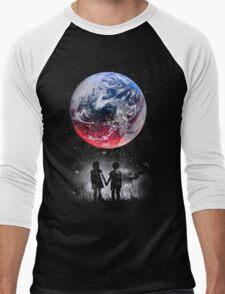 WATCH THE WORLD DIE Men's Baseball ¾ T-Shirt