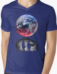 WATCH THE WORLD DIE Mens V-Neck T-Shirt