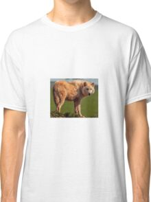 The Watching Wolf Classic T-Shirt