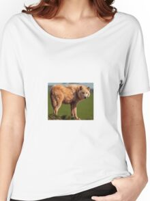 The Watching Wolf Women's Relaxed Fit T-Shirt