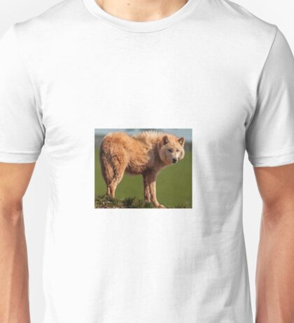 The Watching Wolf Unisex T-Shirt