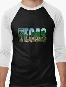 Vegas (MGM Grand) Men's Baseball ¾ T-Shirt
