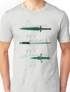 Dagger, dagger, dagger Unisex T-Shirt