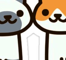 Neko Atsume - love cats Sticker