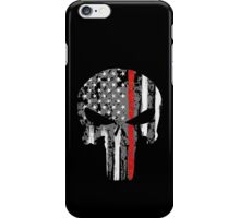 Punisher - Red Line iPhone Case/Skin