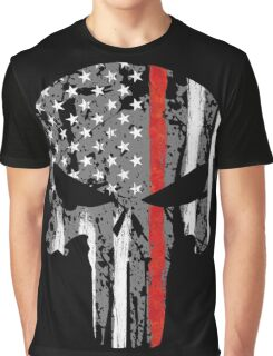 Punisher - Red Line Graphic T-Shirt