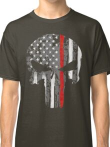 Punisher - Red Line Classic T-Shirt