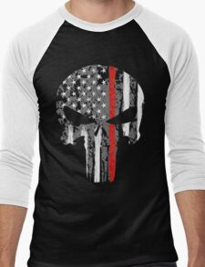 Punisher - Red Line Men's Baseball ¾ T-Shirt