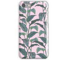 Pink Leaf iPhone Case/Skin