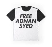 Free Adnan Syed Graphic T-Shirt