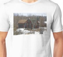 Red Windows - Abandoned Home Unisex T-Shirt