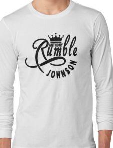 Anthony Rumble Johnson Long Sleeve T-Shirt