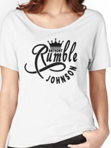 Anthony Rumble Johnson Women's Relaxed Fit T-Shirt