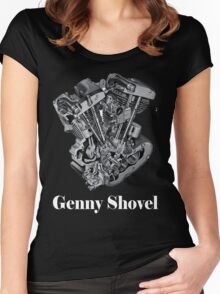 Genny Shovel Women's Fitted Scoop T-Shirt