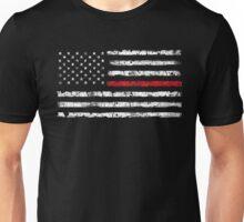 Red Line (White) V2 Unisex T-Shirt