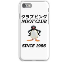 Noot Club iPhone Case/Skin