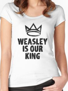 Weasley is our king Women's Fitted Scoop T-Shirt